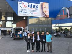 14th IDEX Istanbul #Dental Equipments and Materials #Exhibition 2017. Our Team