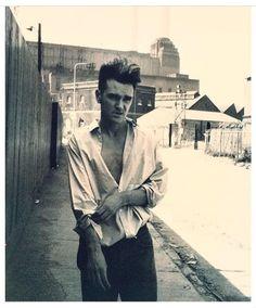 Morrissey photographed by Jürgen Teller