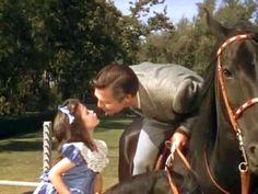 Bonnie and Rhett Butler in Gone With the Wind
