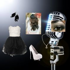 """""""Beatrice's Performing Outfit"""" by beatricepallarco ❤ liked on Polyvore"""