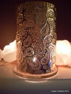 Copper Anniversary gift Paisley Passion by coppercreationsbyme, £68.00