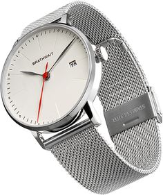 The Automatic Minimalist Wrist Watch - Mesh Strap Strap – #Brathwait
