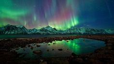 Nature is incredible. Aurora boreal en Tromso, Noruega, trala explosión solar do luns 23 de febreiro. Fotografía de Ole C. Tromso, Aurora Borealis, National Geographic, See The Northern Lights, Earth From Space, To Infinity And Beyond, Night Skies, Vacation Spots, Wonders Of The World