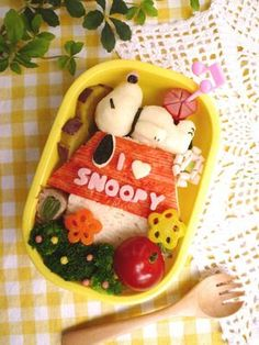 Sandwich Snoopy Kyaraben Bento by はに