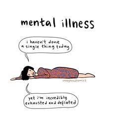 Mental Illness Awareness, Mental Health Illnesses, Mental And Emotional Health, Mental Health Matters, Mental Health Quotes, Mental Health Issues, Understanding Anxiety, Psychology, Feelings