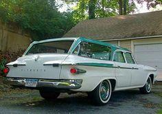 1961 Plymouth Custom Suburban Wagon