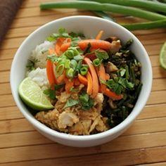 Chicken and Veggie Rice Bowl recipe