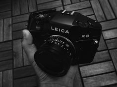 Leica R8 masterpiece of industrial product design