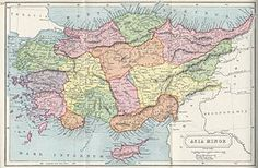 ANATOLIA, also known as historical ASIA MINOR. This 1907 map of Asia Minor, showing the local ancient kingdoms - Wikipedia, the free encyclopedia