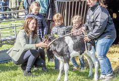 Crown Princess Mary of Denmark with her children Princess Josephine, Prince Vincent and Princess Isabella attended the opening of Eco day 2015 (Økodag) in Zealand Island, Denmark on April 19, 2015.