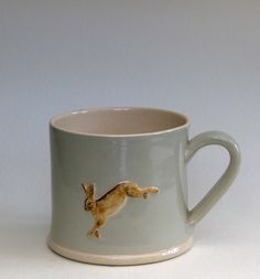 Jane Hogben terracotta.. Saw this at Winchester Christmas market and love! mug.eau.hare.large.jpg (567×608)