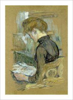 Henri de Toulouse-Lautrec Helene, 1888