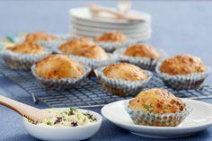 Hartige muffins met bieslookboter - Powered by @Foodblabla