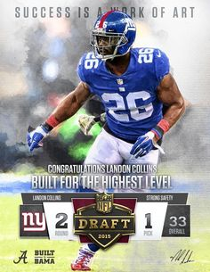 nfl New York Giants Landon Collins LIMITED Jerseys