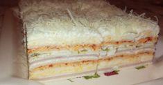 Slana torta sa rozen korama Sweet Cakes, Dessert Recipes, Desserts, Vanilla Cake, Recipies, Appetizers, Cooking Recipes, Bread, Food And Drink
