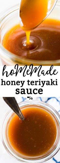 Wondering How To Make Homemade Teriyaki Sauce? It's quick and easy, and SO much better than store bought! Made with a few simple ingredients, you will never reach for the bottled sauce again. Use it as a stir fry sauce, pour it over foil baked salmon or even use it as a dip for homemade chicken nuggets or steamed green beans - the possibilities are endless! via @savorynothings