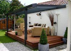 Consuminderen: Alternatieve terrasoverkapping met zonnepanelen