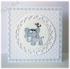 Little Grey Elephant by frenziedstamper - Cards and Paper Crafts at Splitcoaststampers