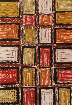 Frank Clancy 'Kurajong' 2007 acrylic on linen 90 x Gallery Gabrielle Pizzi - Exhibiting Contemporary Australian Aboriginal Art Melbourne Aboriginal Dot Art, Aboriginal Painting, Aboriginal Artists, Dot Painting, Indigenous Australian Art, Indigenous Art, Aboriginal Art Australian, Art Premier, Native Art