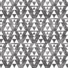 Aztec gray stacked satin or organic cotton fitted sheet for infants and toddlers by primal vogue™ - grey, white, black - geometric triangles