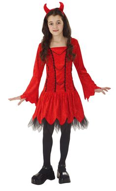 totally ghoul wicked devil child costume seasonal halloween girls halloween costumes