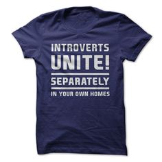 Introverts, unite in true introvert fashion... unite, separately, in your own…