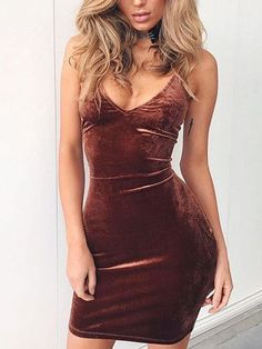 Lola Velvet Bodycon Dress