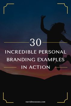 Do you need inspiration to build your personal brand? Here are 30 incredible personal branding examples in action to get you started!