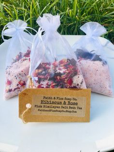 Excited to share this item from my shop: Hibiscus & Rose Pink Himilayan Salt Bath Tea Hibiscus Rose, Natural Bath Bombs, Rose Bath, Bath Tea, Bath Recipes, Lotion Bars, Bath Salts, Packaging, Diy Beauty
