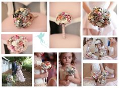 Beautiful designs. Even some small flowergirl bouquets.