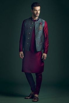 "Résultat de recherche d'images pour ""wedding kurta nehru jacket"""