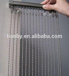 Ball Chain Shower Curtain Rings