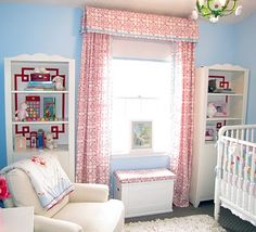 Make a tailored valence & matching drapes from sheets, all without tools! (Ok, you need fabric, scissors, an iron & ironing board, iron-on hem tape, a tension rod to hang the curtains from, cardboard or foam core to make the valence frame, and thumb tacks/command strips/mounting tape to put the valence on the wall)