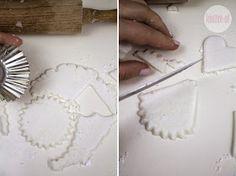 Rękodzieło-art: Anioł z zimnej porcelany Clay Projects, Kids And Parenting, Diy And Crafts, Christmas, Embellishments, Porcelain Ceramics, Xmas, Gypsum, Navidad