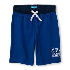 Boys Boys Knit Active Shorts - Blue - The Children's Place
