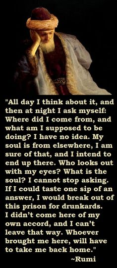 Explore inspirational, rare and mystical Rumi quotes. Here are the 100 greatest Rumi quotations on love, transformation, existence and the universe. Rumi Love Quotes, Ali Quotes, Poetry Quotes, Night Quotes, Wisdom Quotes, Kahlil Gibran, Carl Jung, Love Words, Beautiful Words