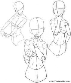 Learn To Draw Manga - Drawing On Demand Drawing Base, Manga Drawing, Figure Drawing, Drawing Sketches, Art Drawings, Anatomy Drawing, Drawing Body Poses, Wie Zeichnet Man Manga, Manga Poses