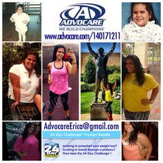 Contact me today! AdvocareErica@gmail.com  IG: erica_gigs Www.advocare.com/140171211