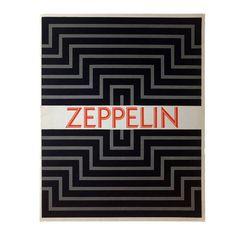 Zeppelin, designed by Rudolf Koch, published by Klingspor, 1929. Zeppelin is the inline version of Kabel. #a2zspecimens #typeephemera