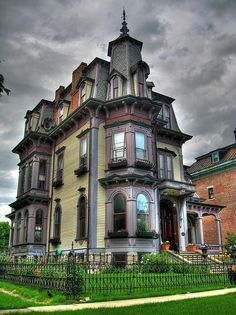 Unique Victorian house