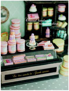 大人のminiature* ラデュレ Ⅱ : natural色の生活~handmade家具