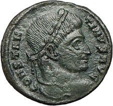 Constantine I the Great 320AD Authentic Ancient Roman Coin WREATH i24677 https://trustedmedievalcoins.wordpress.com/2015/12/31/constantine-i-the-great-320ad-authentic-ancient-roman-coin-wreath-i24677/