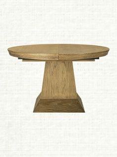 Leighton 54 Round Dining Table In Black Arhaus