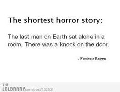 shortest horror story monday - Google Search