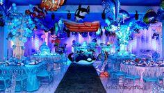 festa de aniversario fundo do mar - Pesquisa Google