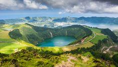 São Miguel, #Azores, #Portugal: ¡Ahora es el momento! - via Espíritu Viajero 30.05.2016 | Esta isla es un destino ideal para avistar cetáceos y caminar entre volcanes y lagunas.