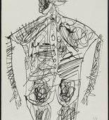 Jean Dubuffet. Bodies of Women (Corps de dames). 1950