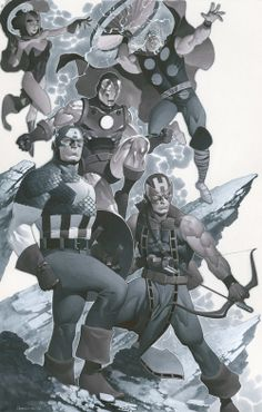 Avengers — Art by Chris Stevens — GeekTyrant