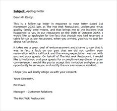 tips for writing corporate apology letter customer service