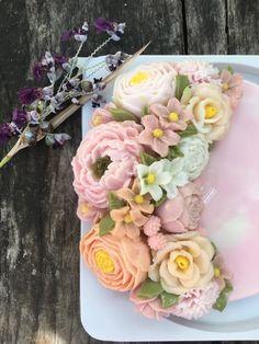 Agar Agar Jelly, 3d Jelly Cake, Cute Food, Floral Wreath, Cakes, Sweet, Flowers, Desserts, Whipped Cream